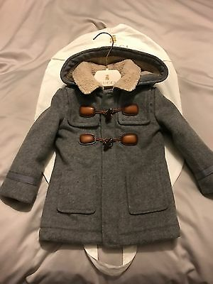 Gucci Lana Wool And Cashmere Coat Size 9-12 Months BNWT