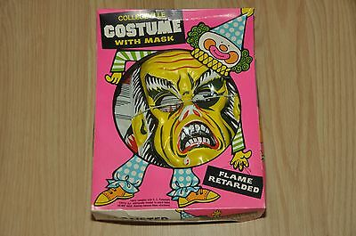 Vintage COLLEGEVILLE MONSTER Halloween Costume with Mask New Old Stock