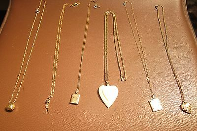 Fabulous Lot of Victorian/Vintage Gold Filled Necklace Jewelry Scrap/Use 26.08g