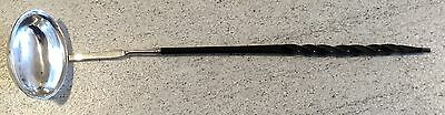 Ladle Valentines Day 1797 Engraved Antique Possible Silver No Hallmarks