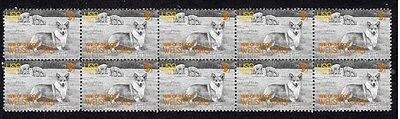 Welsh Corgi Strip Of 10 Mint Year Of The Dog Stamps 2