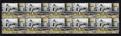 Italian Greyhound Strip Of 10 Mint Year Of Dog Stamps