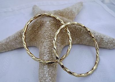 Shopnbc Splendido Oro Italy 14Kt Yellow Gold Twisted Style Bracelet Nice!