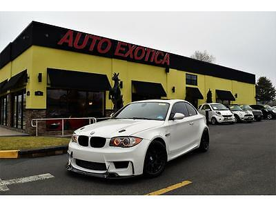 2011 BMW 1-Series Base Coupe 2-Door 2011 BMW 135i 1M REPLICA 6 Speed Manual WHITE COBB APEX AIRLIFT AFE BMS IND