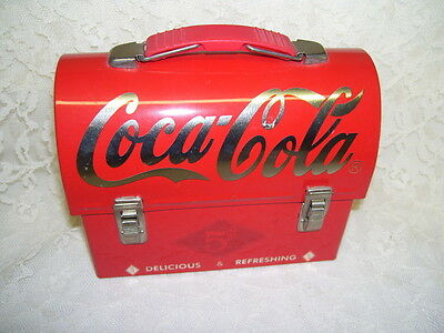 Small Metal Coca Cola Lunchbox 2003