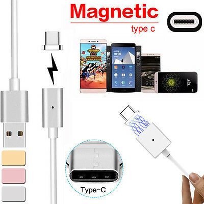 USB Magnet Ladekabel Ladegerät Magnetic Cable Charger Type-C Micro For Android