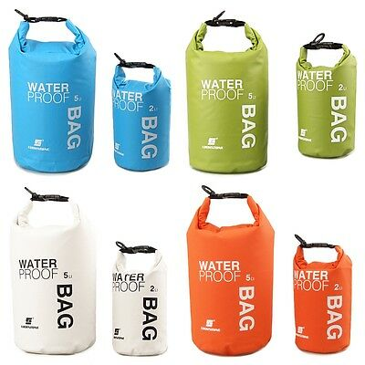 Outdoor Waterproof Canoe Swimming Camping Hiking Backpack Dry Bag Pouch