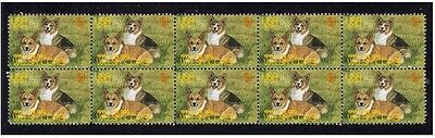 Welsh Corgi Strip Of 10 Mint Year Of The Dog Stamps 3