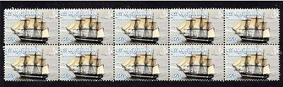 Uss Constitution  Strip Of 10 Mint Us Navy Stamps 4