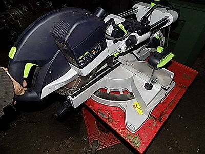 Festool 240V Sliding Compound Mitre Saw New Unused K88 Woodworkers Tools