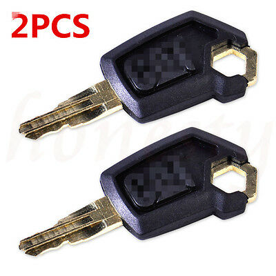 NEW 2 pcs Heavy Equipment Ignition Loader Dozer Key  For Caterpillar 5P8500 CAT