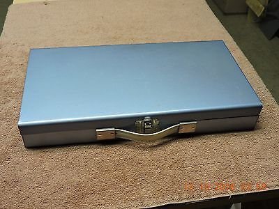 """Metal Storage Case For 35 Mm Slides And 2"""" X 2"""" Coins"""