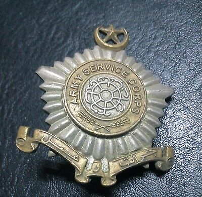 Pakistan Army Service Corps Badge,