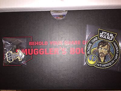 Smugglers Bounty CASSIAN ANDOR PATCH K-2SO PIN Rogue One Smuggler's Star Wars