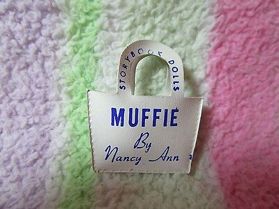 Tiny white MUFFIE signed purse~ Good condition~