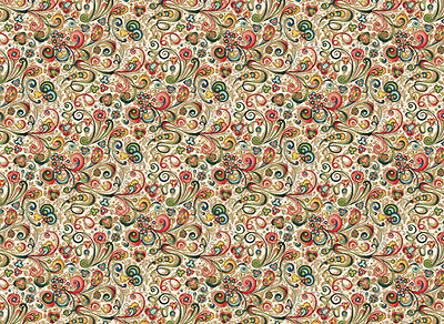 Rossi Art Nouveau Flowers Wrapping Paper