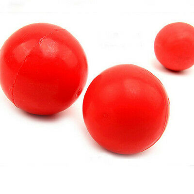 Funny Indestructible Solid Rubber Ball Pet Dog Training Chew Play Fetch Toy .*