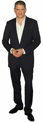 Wentworth Miller Cardboard Cutout (life size OR mini size). Standee. Stand Up.