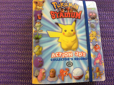 Pokemon Stadium Action 3D'S Collector Record