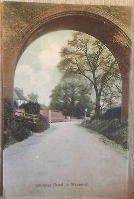 Haverhill Postcard Showing Sturmer Road (1905)