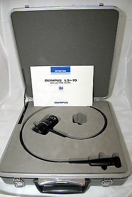 Olympus LS-10 Teaching Video Endoscope OES - Cased With Instructions