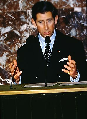 PRINCE CHARLES in The Academy of Science Morales&Politics - Original 35mm Slide