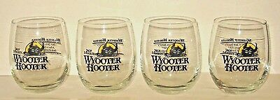 Jack Daniels Wyooter Hooter Cocktail Glasses Set of 4 Recipe 13oz