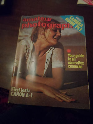 Amateur Photographer Magazines Vintage May 1978 Glamour Set Great Condition