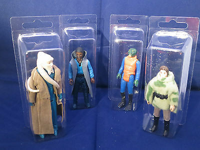 10 x Star Wars Loose Action Figure Display Case/Blister