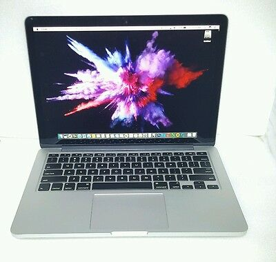 Early 2013 retina macbook pro 3 ghz core i7 128gb ssd 8gb ram working with issue