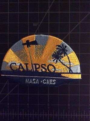 CALIPSO NASA space Mission Patch CNES USAF LARC French Weather Satellite ESA