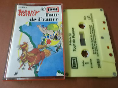 Asterix 6 - Tour De France - Europa Hörspiel Musikkassette (Audio Tape)