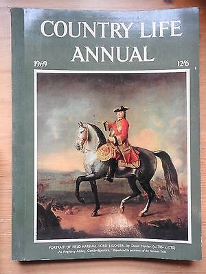 Country Life Annual 1969 - Lord Ligonier by Morier cover