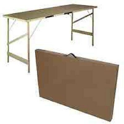 Fold-Up Portable Wooden Wallpaper Pasting Table