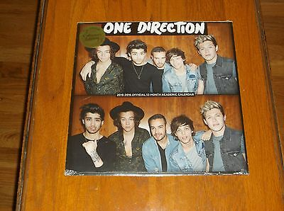 Nip One Direction 2015-2016 12 Month Calendar Great Pictures