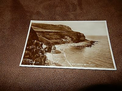 Real Photo postcard- The Creek Benllech - Isle of Anglesey - North Wales
