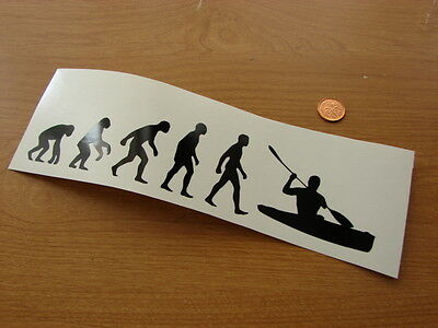 Kayak Evolution fun sport  VINYL DECAL STICKER