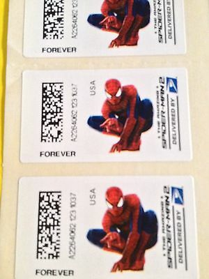 USPS FOREVER Limited Edition Scott# CVP90 SPIDERMAN (3) Stamp 1st Class Mail MNH