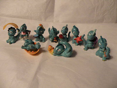 Kinder Surprise 1997 Drolly Dinos Dinosaurs 10 Figure Set Rare
