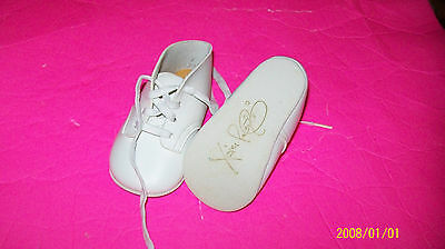 CABBAGE PATCH SOFT SCULPTURE BABY shoes signed xavier robert vintage 30+yrs HTF