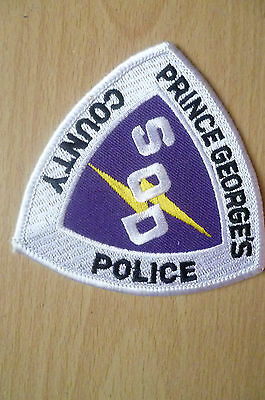 Patches: PRINCE GEORGE'S COUNTY SOD POLICE DEPT PATCH (NEW* apx.8.5x8.5 cm)
