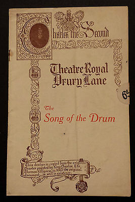 1930's Theatre Royal Drury Lane: THE SONG OF THE DRUM