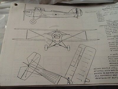 WDF Peroplans Type W-11 Boredom Fighter Plans