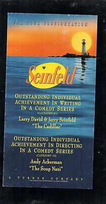 promotional video SEINFELD The Cadillac & The Soup FOR YOUR CONSIDERATION