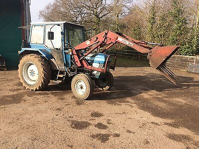 Ford Tractor 4110 With Loader No Vat