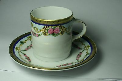 Tirschenreuth Bavaria Tea Cup and Saucer Made in Germany