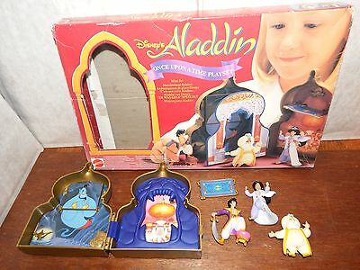 RARE Disney Aladdin Once Upon a Time mini playset figure toy boxed Sultan Jasmin