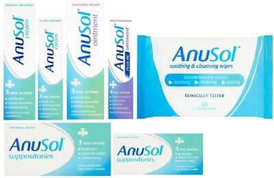 Anusol Haemorrhoid Relife Discomfort Cream 23g 43g Ointment Itching Shrink Piles