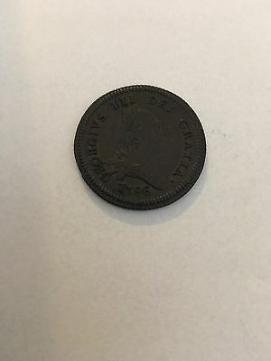 Isle Of Man 1786 Copper Penny