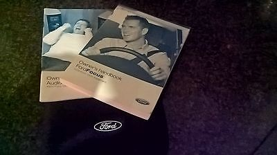 Ford Focus Mk3 2005 2006 2007  Owners Handbook And Wallet Audio Book Pack